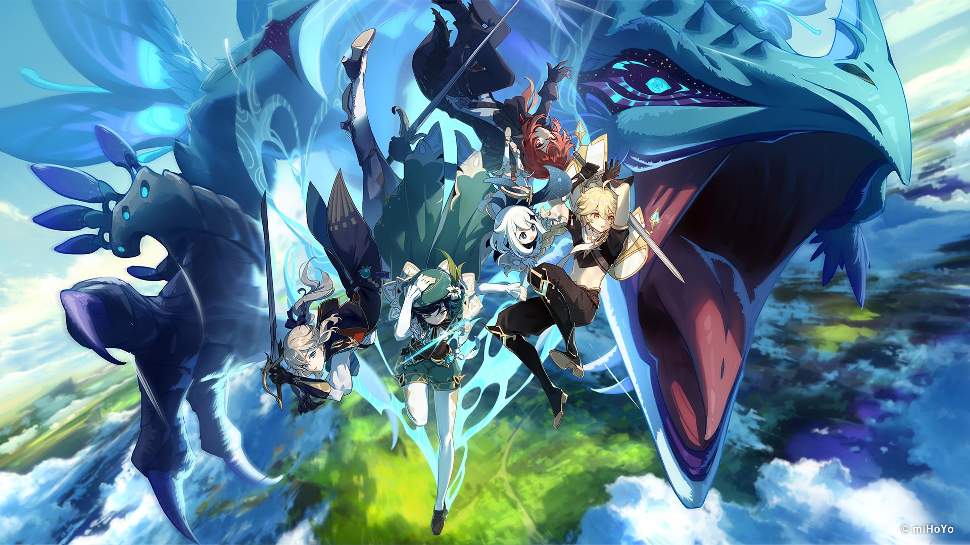 Genshin Impact mistura mundo aberto, RPG e sistema de gacha para render horas de jogatina (Foto: Divulgação/MiHoYo)